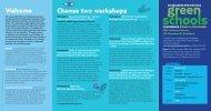 Green Schools Conference 2014 - Australian Education Union ...