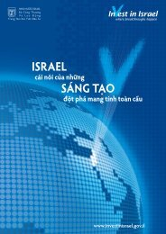 ISRAEL SÁNG TẠO - Invest in Israel