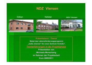 Teamerfahrung in der Projektphase - WB-nephro.de