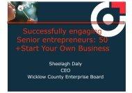 50 +Start Your Own Business - Senior Enterprise