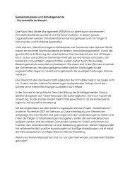 Die Immobilie im Wandel - RESO Partners AG