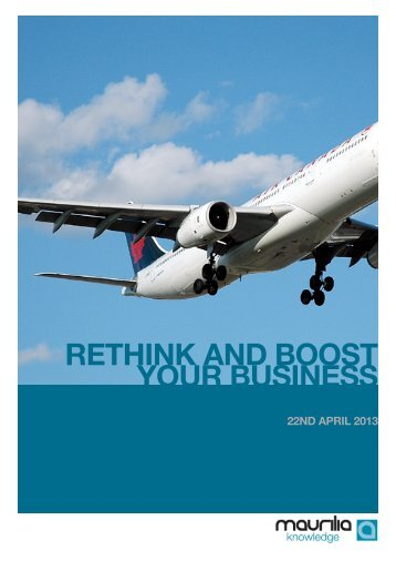 RETHINK AND BOOST YOUR BUSINESS - Midi Capital