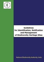 Biodiversity Heritage Sites - National Biodiversity Authority