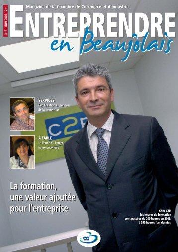 CCI couv n°5 - Chambre de Commerce et d'Industrie de Villefranche ...