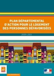 Plan Départemental d'Action pour le logement des personnes ...