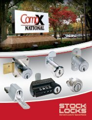 CompX National - Locksmith Security Association of Michigan - LSA