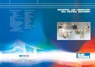 industrial and laboratory gas control equipment - Black Teknigas