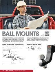 Ball MOUNTS