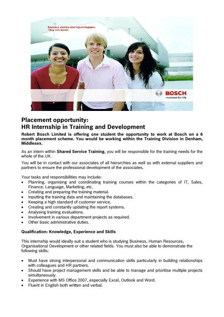Project Management Training And Placement