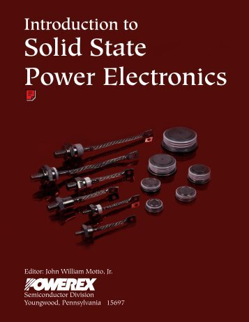 Introduction to Solid State Electronics - Powerex