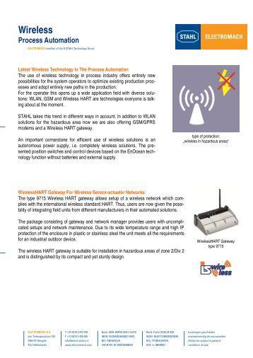 Wireless - Electromach BV