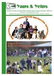 Yaps & Yelps - Northern Suburbs Dog Training Club
