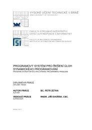 vysoké učení technické v brně programový systém pro řešení úloh ...