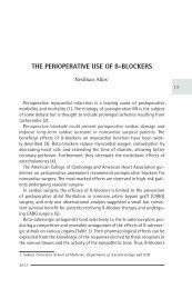 THe PeRIOPeRaTIve use OF ß-BlOCkeRs - ati | anestezie terapie ...