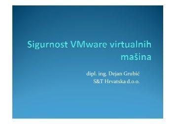 Sigurnost VMware virtualnih mašina.pdf - VMware Communities