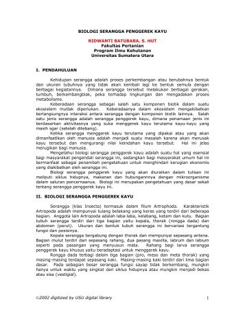 I. PENDAHULUAN - USU Library - Universitas Sumatera Utara