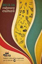Saison culturelle 2013-2014 - Cabourg
