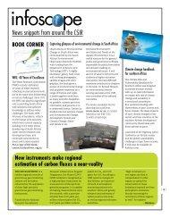 Infoscope: News snippets - CSIR