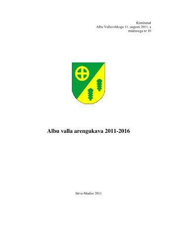 Albu valla arengukava 2011-2016