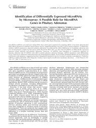 Identification of differentially expressed microRNAs by microarray: A ...