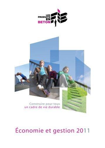 Économie et gestion 2011 - assainissement durable