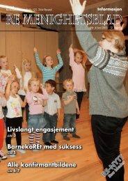 Nr. 4 2013 - Re kirkelige fellesråd - Den norske kirke