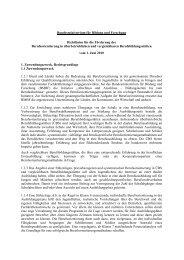 Richtlinien für die Förderung der Berufsorientierung in ... - BiBB