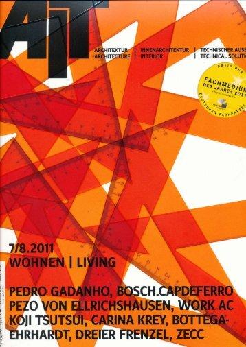 """""""AIT 7/8 2011"""". Dort ist man begeistert - Sanitär Wahl GmbH"""
