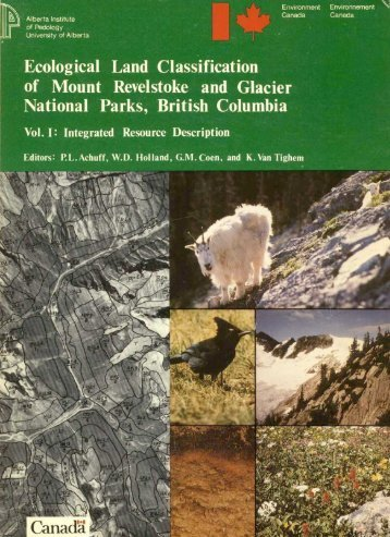 Ecological Land Classification of Mount Revelstoke and Glacie r ...