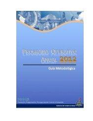 Guía Metodológica del POA 2012 - Trámites y servicios - Gobierno ...