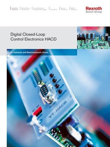 Digital Closed-Loop Control Electronics HACD - Bosch Rexroth