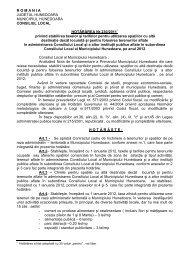 HCL 230-2011.pdf - Primaria Municipiului Hunedoara