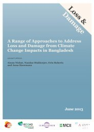 A Range of Approaches to Address Loss and Damage from Climate ...