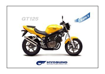 GT125AT PART CATALOGUE-EURO3.pdf - Hyosung