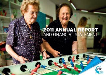 EFC Annual Report 2011 - The European Foundation Centre