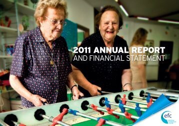 EFC Annual Report 2011 - The European Foundation Centre