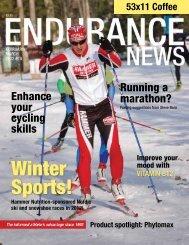 Winter Sports! - Hammer Nutrition