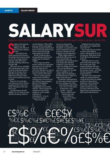 Salaries - estatesgazette.com