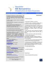 IDE Iberoamérica - RedGeomatica - RedIRIS