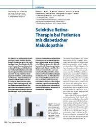 Selektive Retina- Therapie bei Patienten mit ... - IngentaConnect