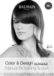 Color & Design WORKSHOP Manual for training ... - Balmain Hair
