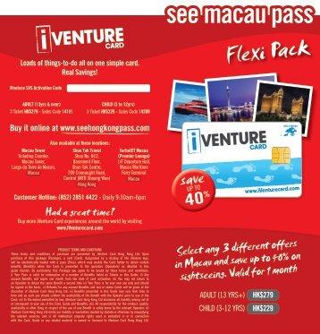 here - See Hong Kong Pass - iVenture Card