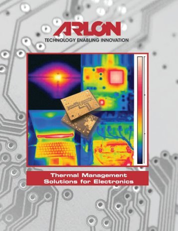 Thermal Management Solutions for Electronics - Arlon MED