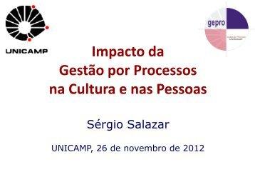 Impacto da Gestão por Processos na Cultura e nas ... - Unicamp