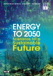 IEA - Energy to 2050 Scenarios for a Sustainable Future - reaccess