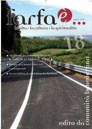 Scarica tutta la rivista in formato .pdf - Farfaè...