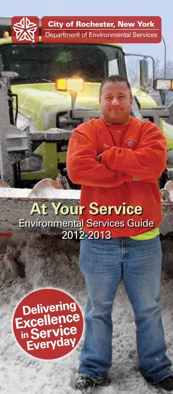 At Your Service Guide: Residential - City of Rochester