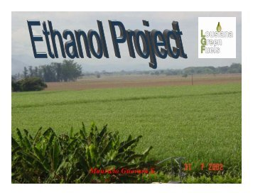 Ethanol Project