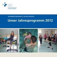 Unser Jahresprogramm 2012 - St. Rochus-Hospital Castrop-Rauxel