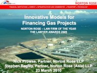 Innovative Models for Financing Gas Projects - pptfun